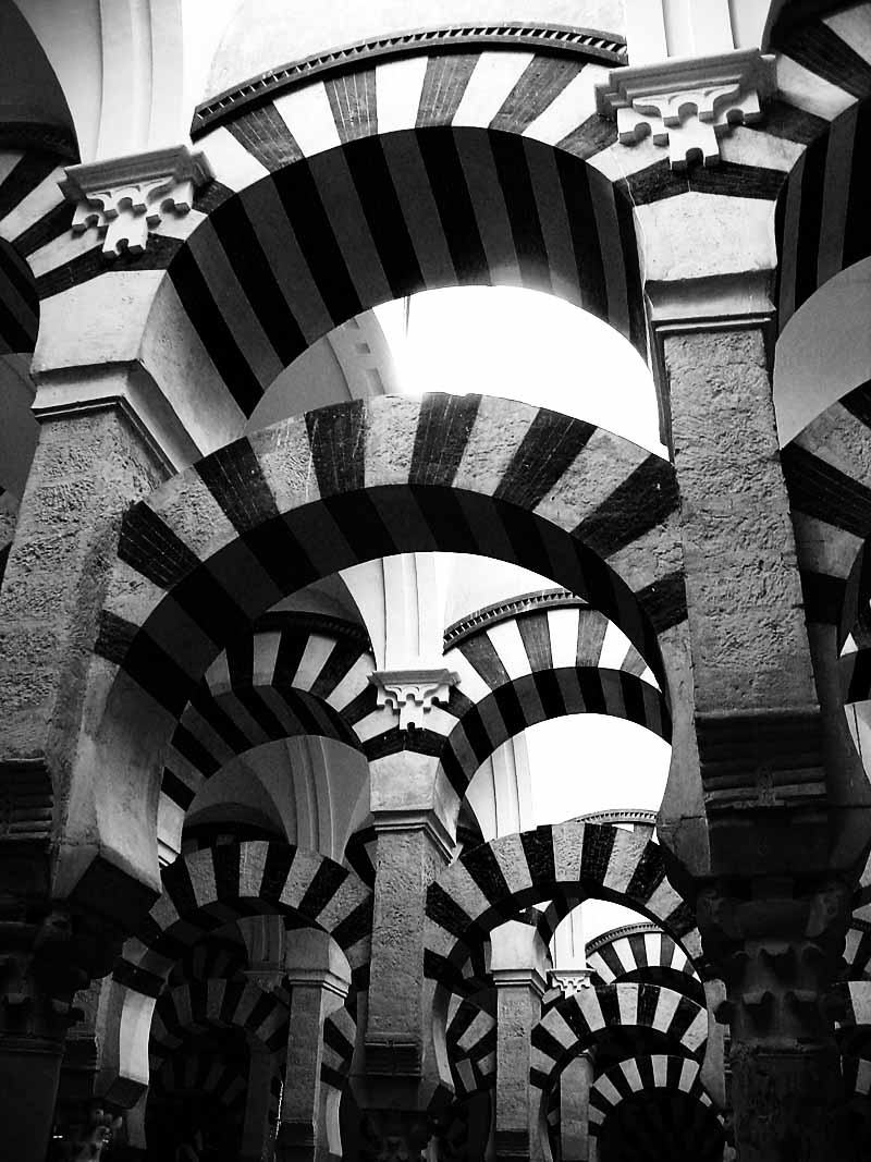 Moorish arches; click for previous post