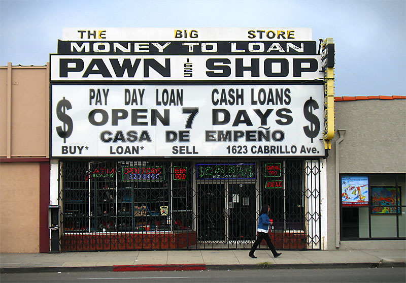 Pawn shop; click for previous post