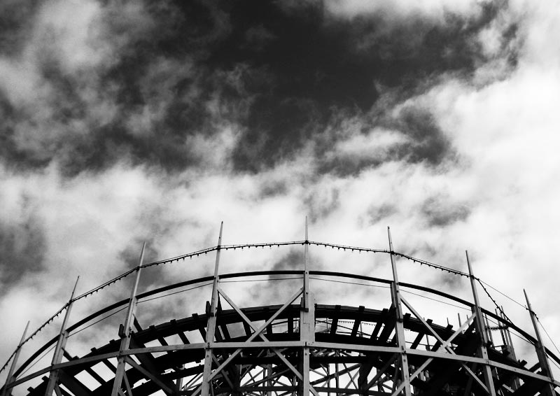 Giant Dipper and clouds; click for previous post