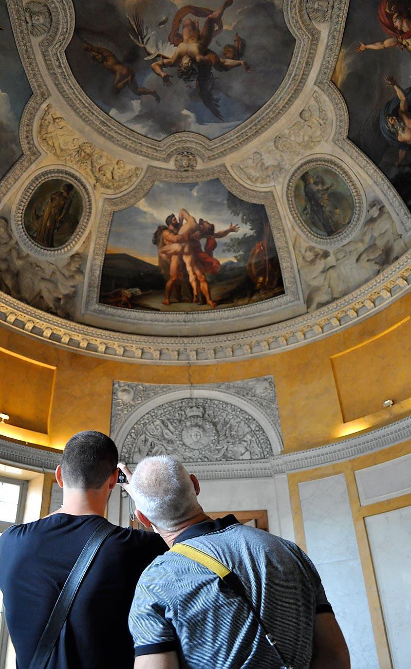 Rotunda of Apollo; click for previous post