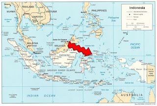 indonesia earthquake map