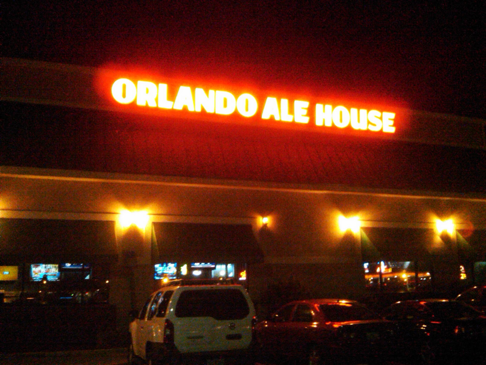 Engy's: Night Out on the Town - Orlando Ale House