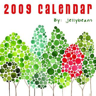 Angela Vandenbogaard: Introducing Jellybeans' 2009 Calendar