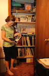 Closet for Scrapbooks