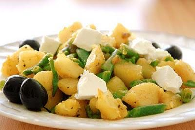 Стручковая фасоль с картофелем