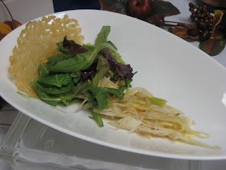 ... Baby+Arugula+with+Lemon+Pepper+Vinaigrette+and+Parmesan+Crisp+001.JPG