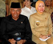 Persahabatan Sesama Rampok Indonesia Mantan Mensos dan Gubernur Banten Palsu