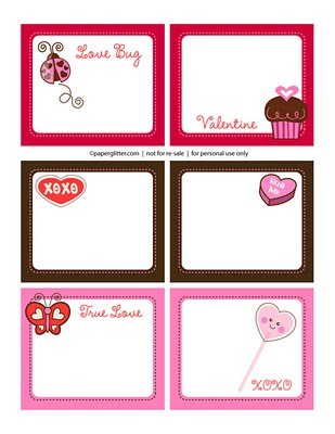 Dynamic image within valentine stickers printable