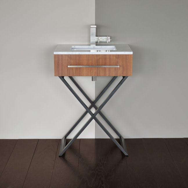 image quarter bamboo bathroom stool the moda vanity certainly gets back to basics and at this harried time of year i can well appreciate that well there is the slightest quarter given to
