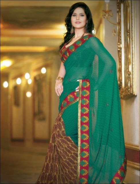 zarine khan hot wallpaper. Zarine Khan Saree Wallpapers,