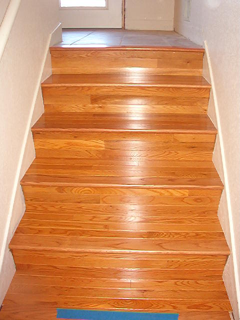 Big Kraut Construction Hardwood Staircase Hardwood