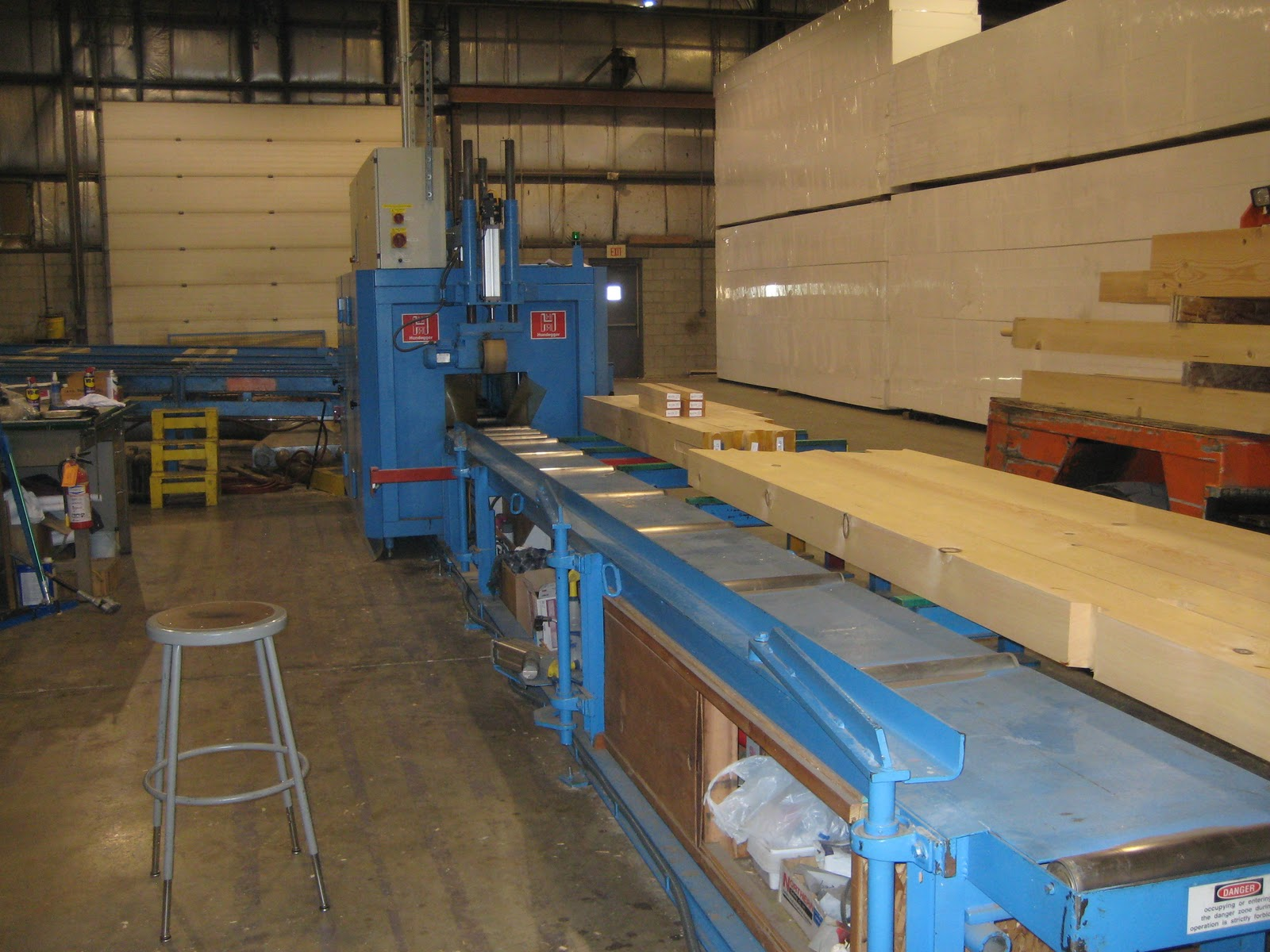 timber cutting machine