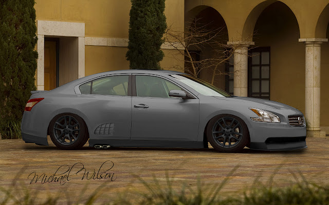 How Much For A Paint Job On  Nissan Maxima