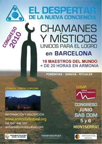Congreso de Chamanes y Místicos unidos para el logro 2010 con la presencia de Chamalú