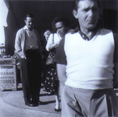 Bud and Lou in Tijuana - circa February 1956