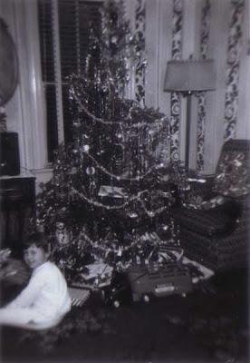 Christmas Tree - circa 1952