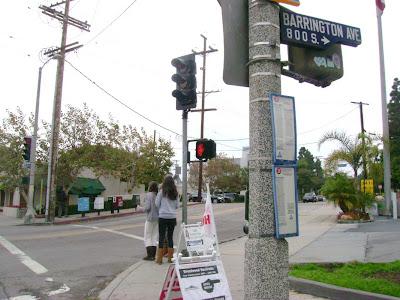 Barrington & San Vicente - Brentwood