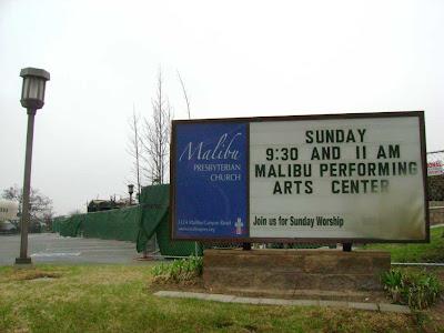 Malibu Canyon Church Fire - October 2007