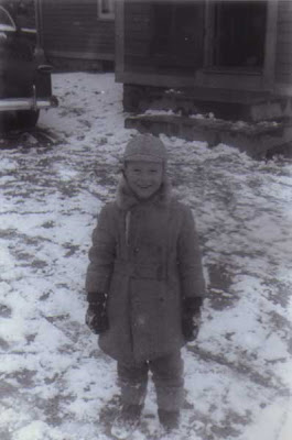 Cousin Bobby in the Snow - 1952