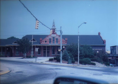 Woonsocket Railroad Depot - 1985