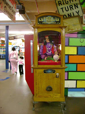 Redondo Beach Fortune Teller at the Fun Factory