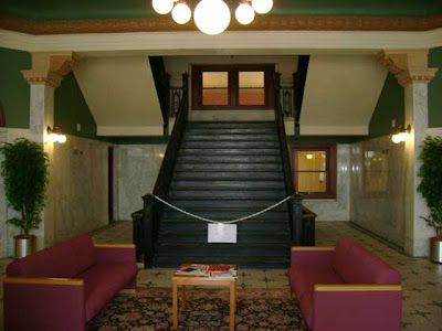 Morgue Lobby Stairs