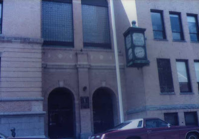 Lowell High School Clock