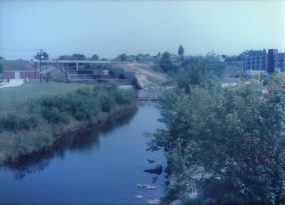 Mill River & Harris Pond Dam - Woonsocket 1985