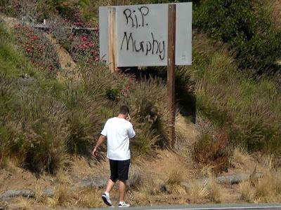 PCH DUI RIP Memorial - Malibu