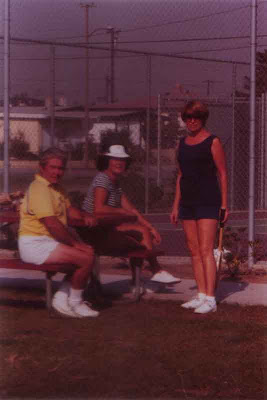 Senior Tennis Player Louis Aldrich - 1977