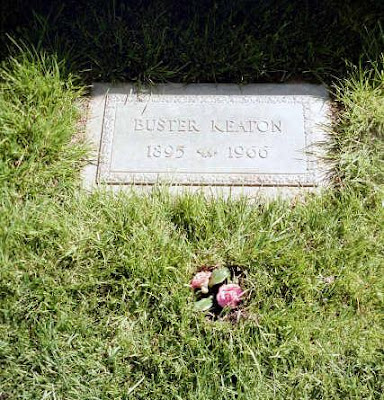 Buster Keaton at Forest Lawn Hollywood Hills