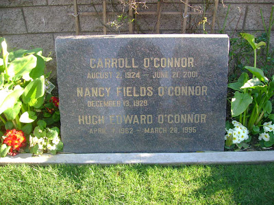 Carroll O'Connor - Westwood Cemetery