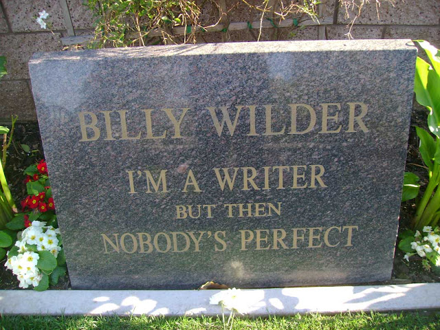 Billy Wilder - Westwood Cemetery