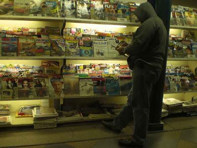 Magazine Stand at Night - Santa Monica