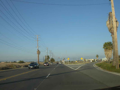 Approaching Culver and Jefferson Intersection - Playa del Rey