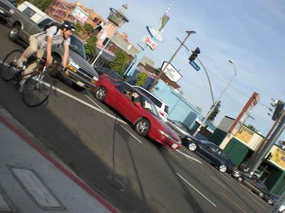 Biker Boy on Pico - West L.A.
