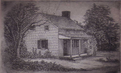 1904 Engraving of Poe Cottage