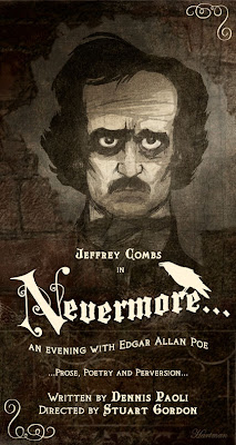 JEFFREY COMBS as Edgar A. Poe - Extended Through October