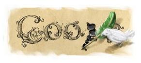google, doodle, manzoni