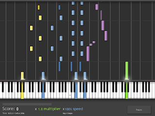 imparare, il, pianoforte