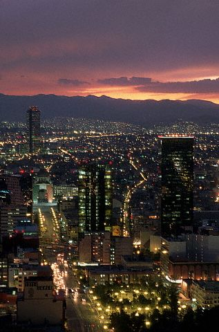 The city of Mexico. It is one of the major cities and has a great population of 108,700,891. It has the most population of the three major cities.