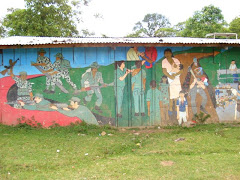 Murales de Bayardo Gámez en Miraflor-Moropotente.
