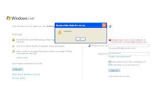 Finding Hotmail Passwords using JavaScript - Ashvin Sawmynaden's Blog