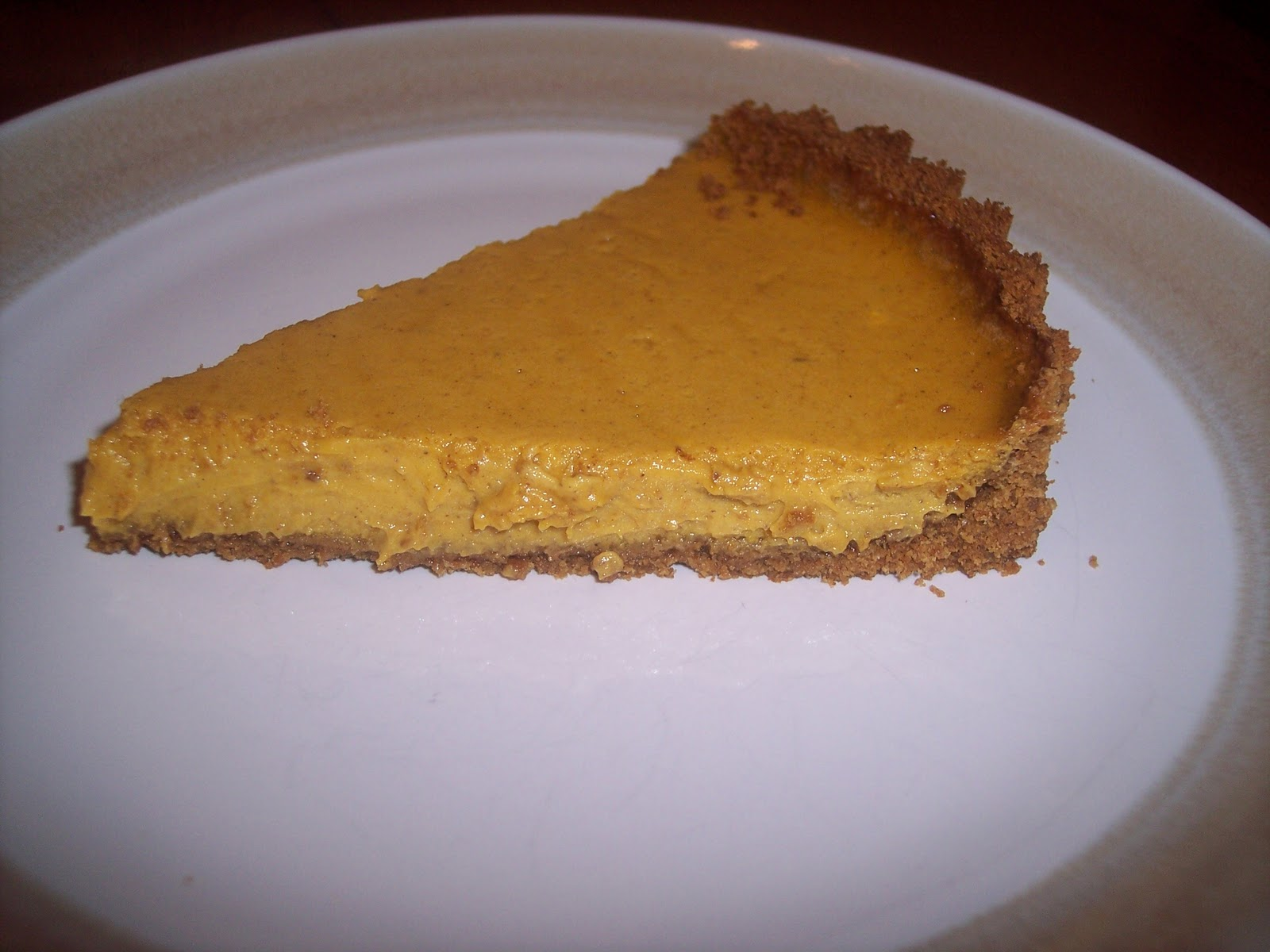 pumpkin pie and i love cheesecake therefore this pumpkin cheesecake ...