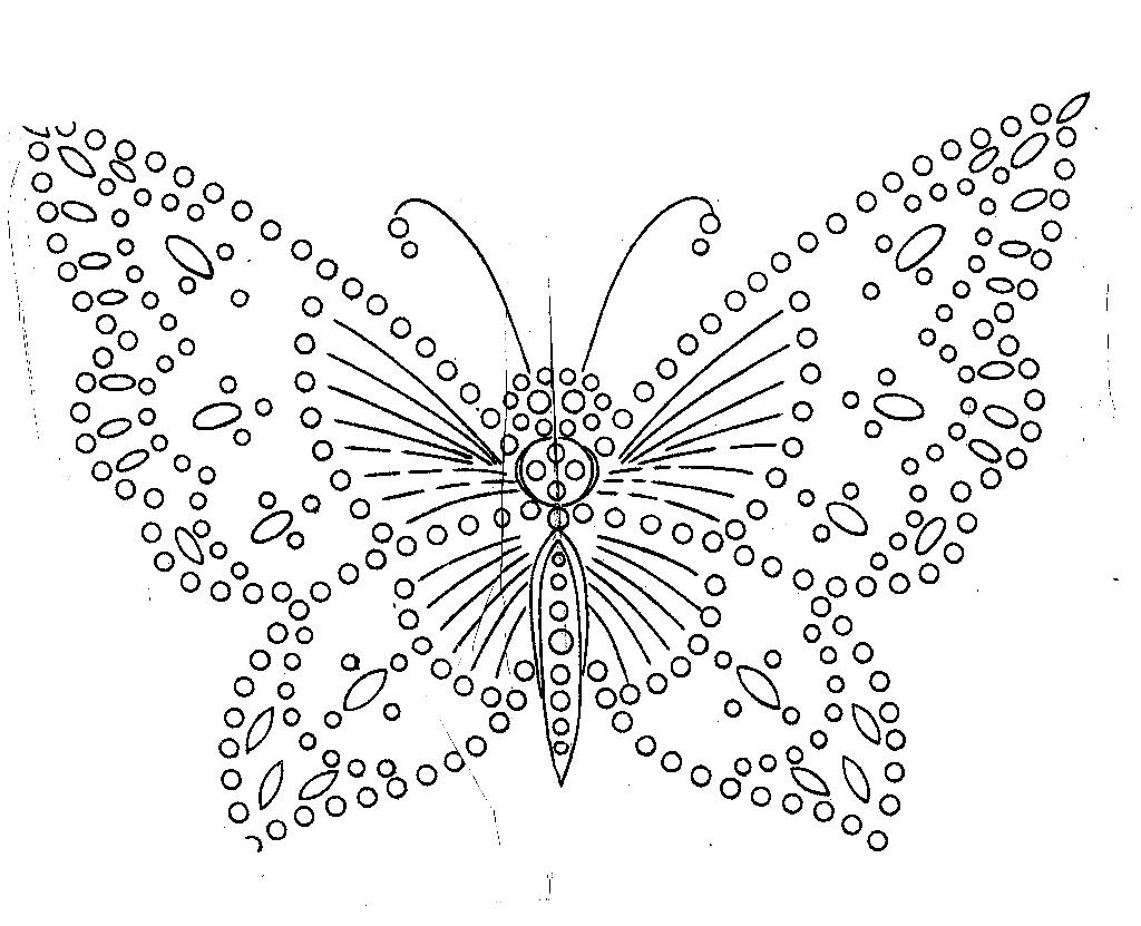Free Download Crochet Butterfly Pattern : Pinturas da Cristina: Riscos para pintar bordar