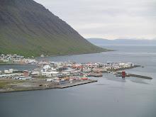Webbkamera från Ísafjörður