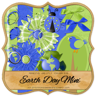 http://momparadisedesigns.blogspot.com/2009/04/new-freebie-earth-day-mini.html