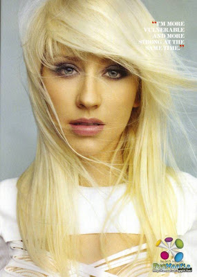 Christina Aguilera Marie Claire US February 2010