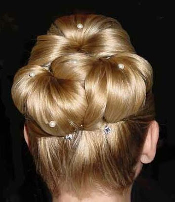fancy updo hairstyles for medium length hair. fancy updo hairstyles
