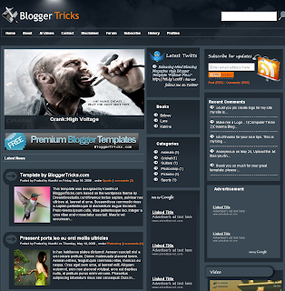 Falkner Press Blogger XML Template